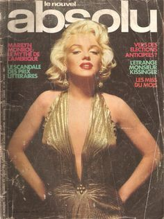 """French Magazine, """"le nouvel absolu"""", 1976"""