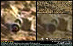 On Mars: Indisputable Image Of Wheels On Axle, Video | Beyond Science