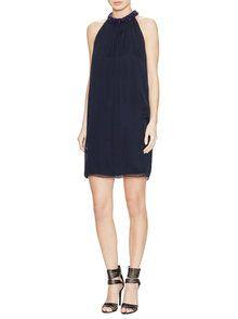 Lainey Silk Embellished Dress