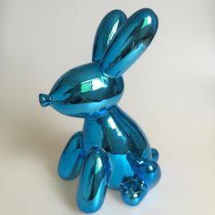 Aliexpress.com : Buy Blue Metallic Balloon Animals Bunny Money Box Rabbit Figurine American Pop Art Craft Ornament Ceramic Crafts Love XMAS Giftl from Reliable craft bling suppliers on Jonlala's lovely store