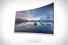 31.5 inches is mighty large for a computer monitor. That's why the curve of the Samsung Quantum Dot Curved Monitor makes so much sense. In addition to its view-enhancing bend, it also uses quantum dot technology to cover more than...