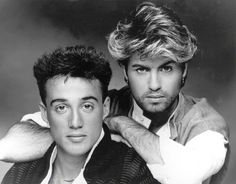 Wham were an English musical duo formed by George Michael and Andrew Ridgeley in the Band have sold more than 25 million records worldwide till 80s Music, Music Icon, Top 100 Music, George Michael Music, Andrew Ridgeley, Musica Pop, Cultura Pop, My Favorite Music, New Wave