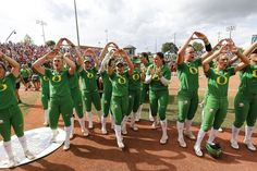 Oregon Ducks Football, Oregon Ducks Hoodie, Softball Uniforms, Softball Shirts, Ncaa Softball, Softball Stuff, Girls Softball, Basketball, Oregon Duck Nails