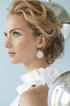 Snowflake Earrings | crochet today