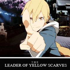 The Leader of Yellow Scarves - Masaomi Kida