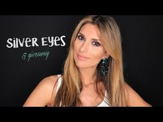 Silver eyes | Giveaway | Roula Stamatopoulou - YouTube Giveaway, Make Up, Eyes, Youtube, Silver, Style, Products, Swag, Makeup