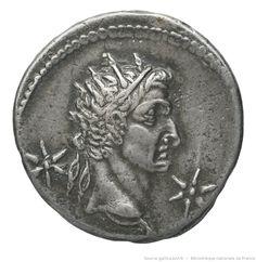 [Monnaie. Denarius, Caligula, Lyon] | Gallica