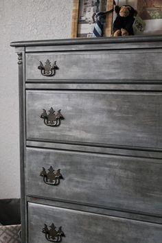 amazing faux zinc dresser with tutorial