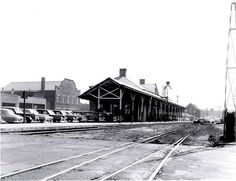 Torrington CT | Torrington, Connecticut, railroad station, September 27, 1955