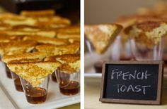 Brunch buffet brilliance for french toast