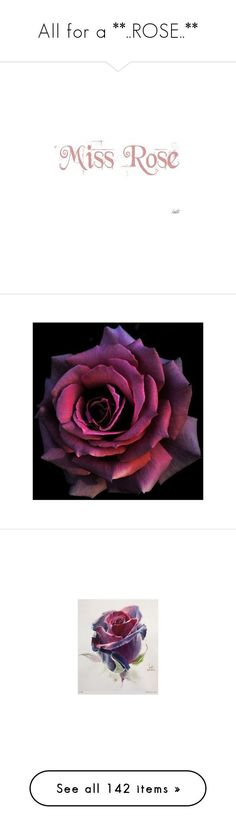 """All for a **..ROSE..**"" by jewelsinthecrown ❤ liked on Polyvore featuring genuine leather shoes, magenta shoes, leather footwear, going out shoes, yves saint laurent shoes, rose home decor, watercolor drawing, watercolor wall art, rose wall art and flowers"