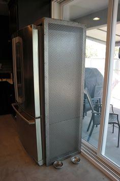 Steel Refrigerator Surround