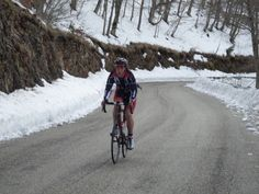 Winter ride in Monte Livata