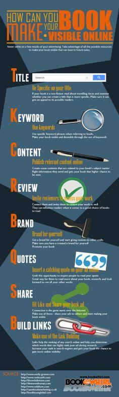 Infografica: come rendere più visibile il tuo eBook online
