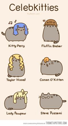 Celebkitties…