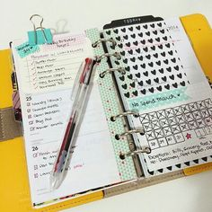 Really cute planner page. Love the NO SPEND calendar! I need this!