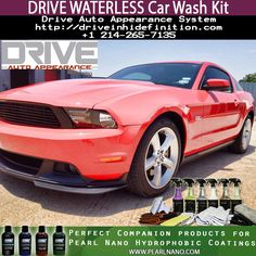DRIVE Auto Appearance product line. These are perfect companion car care products to be used before and after using the Pearl Nano Hydrophobic Coatings. Totally Re-Designed to work in a vast array of conditions and surfaces. Clean, Polish, Prep & Remove Oils, plus Maintain the cars after the coatings are applied. Buy Wholesale/ Retail - visit us @ http://Driveinhidefinition.com - For Sales: Please contact us at Sales@DriveinHiDefinition.com