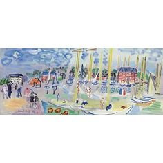 Related image Raoul Dufy, Diagram, Map, Painting, Location Map, Painting Art, Paintings, Painted Canvas, Drawings