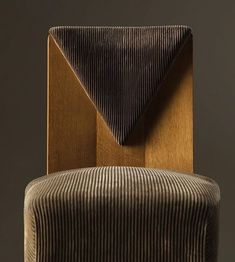 I love to start the design process with aligning each client with the emotions they… Furniture Inspiration, Interior Inspiration, Wood Furniture, Furniture Design, Art Deco Chair, Take A Seat, Architectural Digest, Decoration, Side Chairs