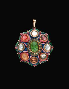 Old Jewelry, Enamel Jewelry, Ethnic Jewelry, Antique Jewelry, Silver Jewelry, Vintage Jewelry, Royal Jewels, Gold Pendant, Jewelry Collection