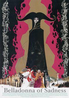 "taishou-kun: "" Fukai Kuni 深井国 Kanashimi no Belladonna 哀しみのベラドンナ (Belladonna of Sadness) works - Director : Yamamoto Eiichi 山本 暎一 -…"