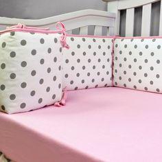 CHEVRON PINK Bumper Pad [BP2083] - $123.99 : Dress Up The Nursery, Sweet Kyla