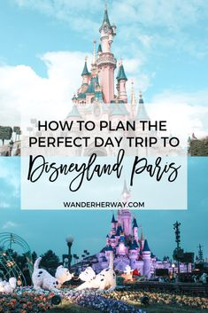 Paris Day Trip: The Complete Guide Planning a trip to Disneyland Paris? Here is everything you need to know for the perfect day at the parks!Planning a trip to Disneyland Paris? Here is everything you need to know for the perfect day at the parks! Viaje A Disney World, Disney World Trip, Disney Vacations, Disney Travel, Disney Parks, Disney Destinations, Disney Land, Family Vacations, Cruise Vacation