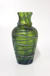 Jugendstil Art Nouveau Vase Pallme & Habel