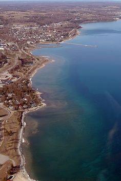 Little Traverse Bay Shoreline - Petoskey, MI