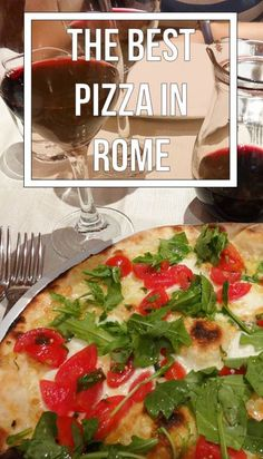 Osteria Ragno d'Oro in Rome, Italy.  The best pizza you'll ever have.