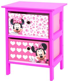 Minnie Mouse Bedroom by elma Minnie Mouse Room Decor, Minnie Mouse Toys, Disney Furniture, Kids Bedroom Furniture, Girl Bedroom Designs, Girls Bedroom, Bedroom Ideas, Bedroom Decor, Disney Rooms