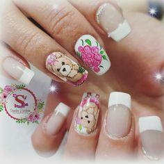 Nail Designs, Nails, Beauty, Jasmine, Stickers, Finger Nails, Nail Decorations, Manicure, Decorations