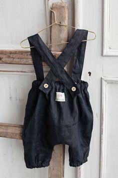 Handmade Linen Baby Pants | Lapetitealice on Etsy