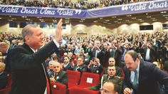 """Haliç Kongre Merkezinde bir vakıf genel kurulunda konuşma yapan Cumhurbaşkanı Recep Tayyip Erdoğan, """"Başbakanlığım dönemimde bir konuşmamda 'Dindar nesil y"""