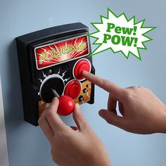 Power-Up Arcade Light Switch: Turn On The Lights With A Joystick - $29.99