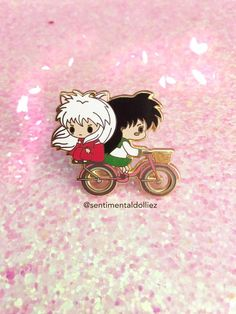 Your place to buy and sell all things handmade Inuyasha, Cute Keychain, Keychains, Disney Pins Sets, Another Anime, Anime Merchandise, Otaku, Cool Pins, Pin And Patches