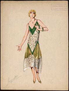 1925 Madeleine Vionnet by Muguette Buhler