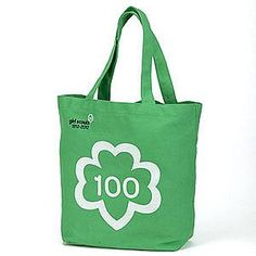 Brought the GS 100th Anniversary Tote with me on vacation... fits the necessities perfectly :) $5.95
