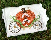 Personalized Pumpkin Carriage Shirt