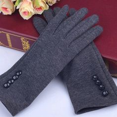 Generous Comfortable Autumn Winter Gloves Men Thicken Warm Cashmere Thermal Mittens Male Touching Screen Gloves For Smart Phone/ipad Apparel Accessories