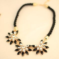 2014 new fashion design western style  multi-layer Weave Rhinestone Choker necklace jewelry  for women 2014 statement necklace