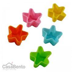 Stars Silicon Mini Cups