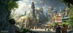 No me lo pierdo...para cuando lo terminen claro RT: Disney creará un planeta Star Wars dentro de sus parques temáticos