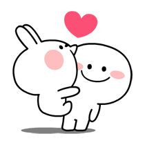 LINE Creators' Stickers - [Animation] Spoiled Rabbit 2 Example with GIF Animation Cute Bear Drawings, Cute Little Drawings, Cute Cartoon Drawings, Cute Kawaii Drawings, Doodle Drawings, Cute Love Memes, Cute Love Gif, Cute Love Cartoons, Cute Doodle Art
