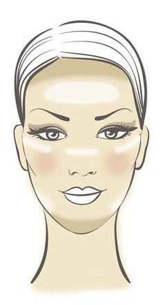 www.Fyola.com RP: Highlighting/contouring for a long face