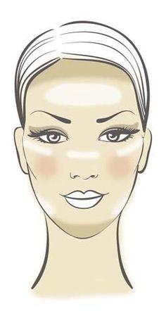 Marvelous How To Apply Makeup For Long Face Shape Makeup Vidalondon Short Hairstyles Gunalazisus