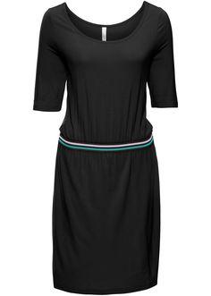 Bekijk nu:Modieuze shirtjurk om je goed in te voelen met sportieve, elastische band met streepjes voor een casual look. Lengte in mt. 36/38 ca. 94 cm.