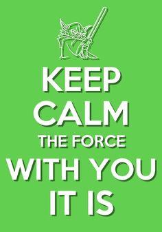 Keep Calm Meme, Keep Calm Signs, Keep Calm Quotes, Keep Calm Disney, Star Trek Quotes, Keep Calm Posters, Project Life Cards, Star Wars Poster, Star Wars Humor