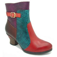Bottines LAURA VITA Toura Rouge