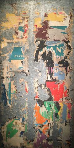 Raymond Hains  Composition  1966